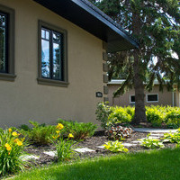 Rejuvenate your mature lot with a garden design including flower garden ideas and walkways.