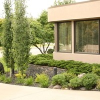 Mature lot garden design including garden pictures of the beautiful landscape design plan.