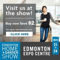 Lots going on at the Edmonton Home and Garden Show!